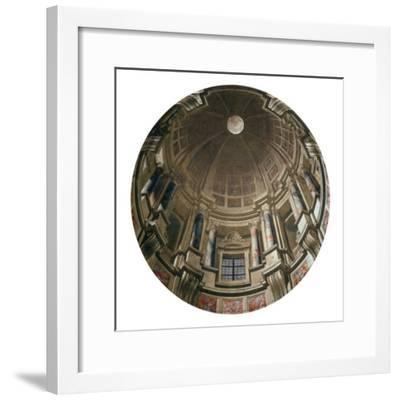 Dome-Andrea Pozzo-Framed Giclee Print