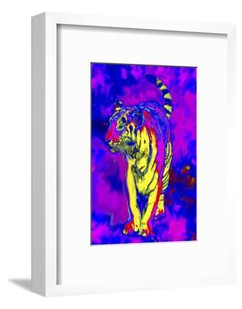 Tiger Endangered Species-Rich LaPenna-Framed Giclee Print