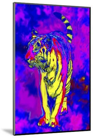 Tiger Endangered Species-Rich LaPenna-Mounted Giclee Print