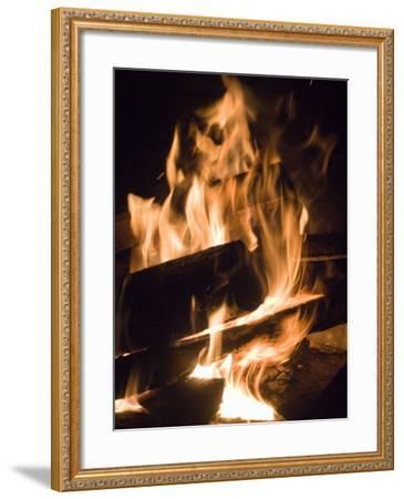 Fire and Wood-Daniel Root-Framed Photographic Print