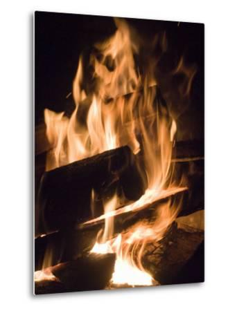 Fire and Wood-Daniel Root-Metal Print