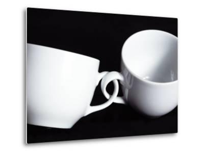 Two Cups with Intertwined Handles-Monzino-Metal Print
