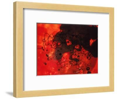 Abstract Image in Red and Black-Daniel Root-Framed Giclee Print