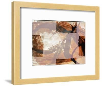 Abstract Image in Brown and White-Daniel Root-Framed Giclee Print