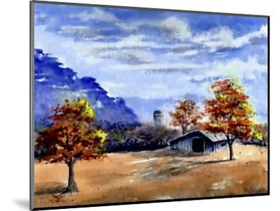 Secluded Barn in Meadow-Rich LaPenna-Mounted Giclee Print