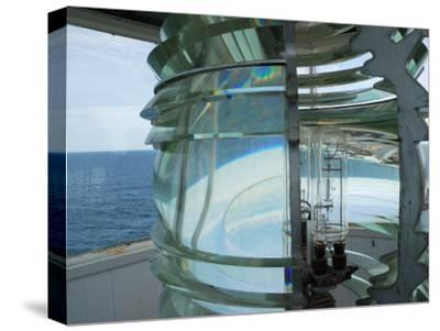 Fourth Order Fresnel Lens in the Pemaquid Lighthouse-Darlyne A^ Murawski-Stretched Canvas Print