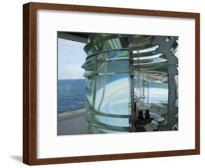 Fourth Order Fresnel Lens in the Pemaquid Lighthouse-Darlyne A^ Murawski-Framed Photographic Print