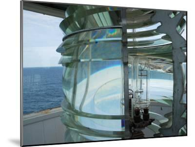 Fourth Order Fresnel Lens in the Pemaquid Lighthouse-Darlyne A^ Murawski-Mounted Photographic Print