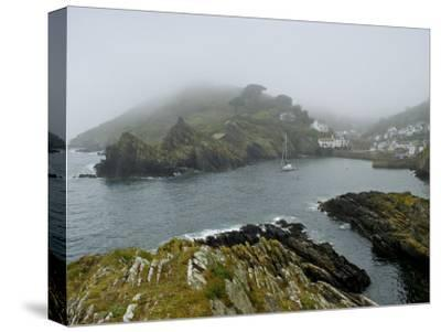 In Polperro, a Small Fishing Village, on the South Coast of Cornwall-Jim Richardson-Stretched Canvas Print