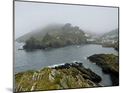 In Polperro, a Small Fishing Village, on the South Coast of Cornwall-Jim Richardson-Mounted Photographic Print