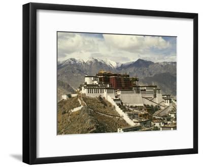 Potala Palace-Martin Gray-Framed Photographic Print
