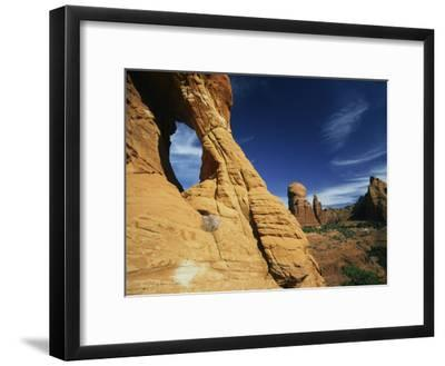 Red Rocks of Sedona-Martin Gray-Framed Photographic Print