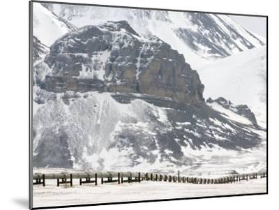 Alaska Pipeline, Alaska-Michael S^ Quinton-Mounted Photographic Print