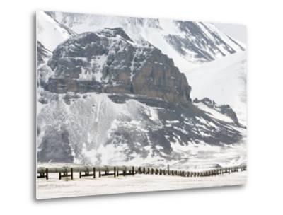 Alaska Pipeline, Alaska-Michael S^ Quinton-Metal Print