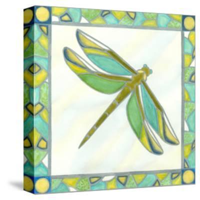 Luminous Dragonfly I-Vanna Lam-Stretched Canvas Print
