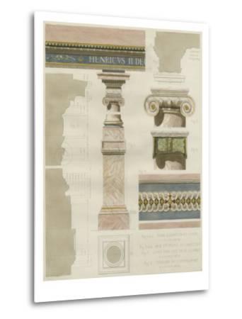 Palais de Fontainbleu I-Rod Pfnor-Metal Print
