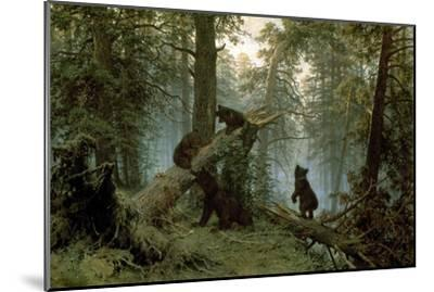 Morning in a Pine Forest-Ivan Ivanovitch Shishkin-Mounted Premium Giclee Print