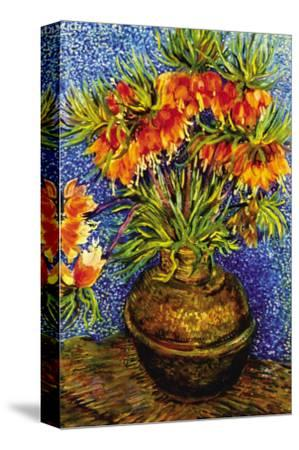 Fritillaries-Vincent van Gogh-Stretched Canvas Print