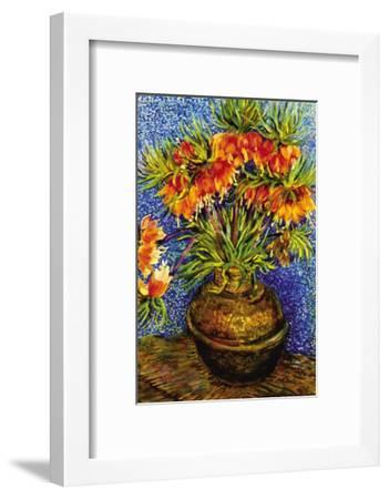 Fritillaries-Vincent van Gogh-Framed Art Print