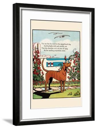 Gingerbread Dog-Eugene Field-Framed Art Print