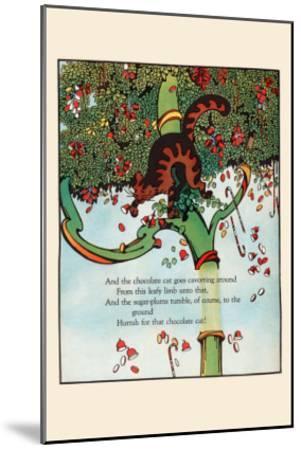 Tumbling Sugar Plums-Eugene Field-Mounted Art Print