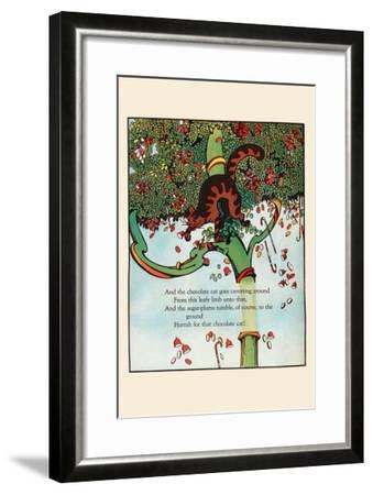 Tumbling Sugar Plums-Eugene Field-Framed Art Print