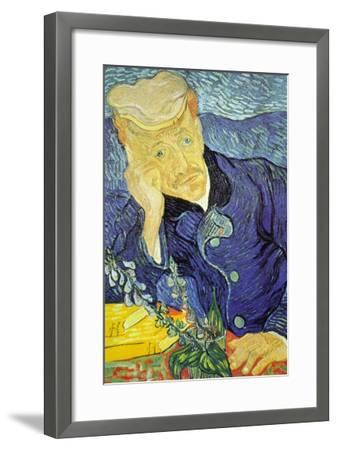 Dr. Paul Gachet-Vincent van Gogh-Framed Art Print