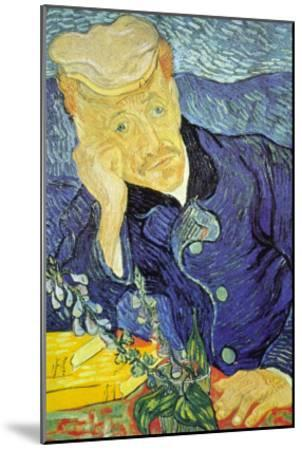 Dr. Paul Gachet-Vincent van Gogh-Mounted Art Print