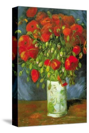 Red Poppies-Vincent van Gogh-Stretched Canvas Print