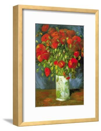 Red Poppies-Vincent van Gogh-Framed Art Print