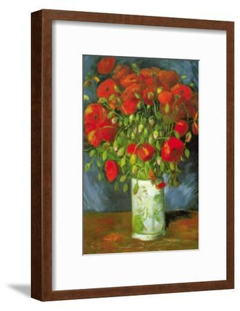 Red Poppies-Vincent van Gogh-Framed Art Print