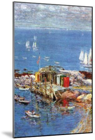 Afternoon In August-Childe Hassam-Mounted Art Print