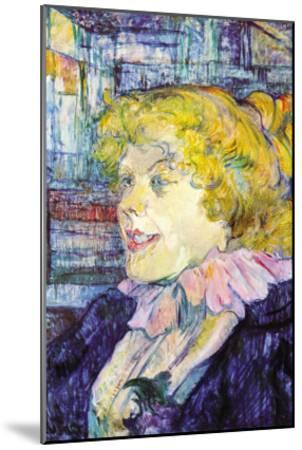 Portrait of Miss Dolly-Henri de Toulouse-Lautrec-Mounted Art Print