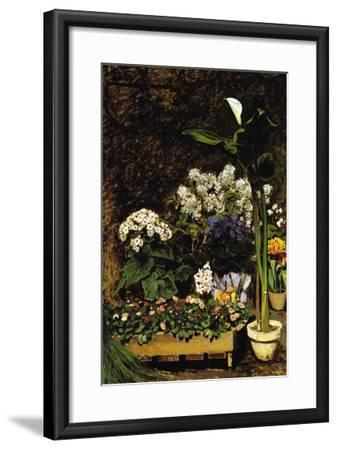 Mixed Spring Flowers-Pierre-Auguste Renoir-Framed Art Print