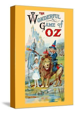 Thewonderful Game of Oz-John R^ Neill-Stretched Canvas Print