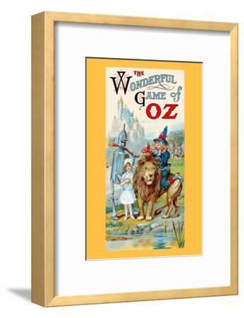 Thewonderful Game of Oz-John R^ Neill-Framed Art Print