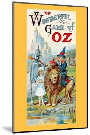 Thewonderful Game of Oz-John R^ Neill-Mounted Art Print