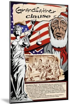 Grandfather Clause-Wilbur Pierce-Mounted Art Print