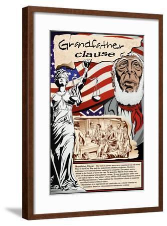 Grandfather Clause-Wilbur Pierce-Framed Art Print