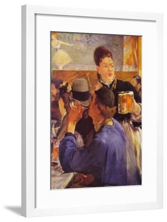 Beer Waitress-Edouard Manet-Framed Art Print