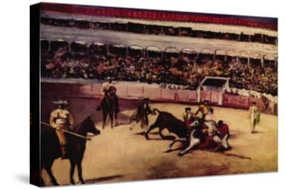 Bullfight-Edouard Manet-Stretched Canvas Print