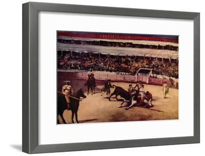 Bullfight-Edouard Manet-Framed Art Print
