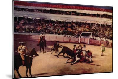 Bullfight-Edouard Manet-Mounted Art Print