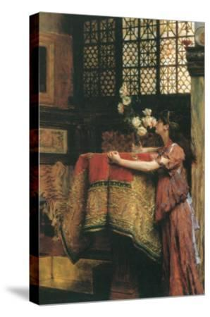 In my Studio-Sir Lawrence Alma-Tadema-Stretched Canvas Print