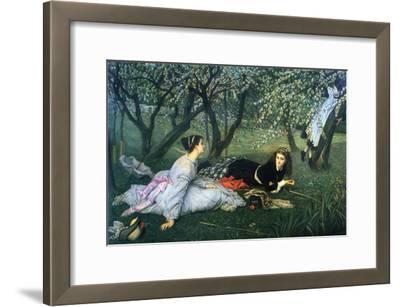 Springtime-James Tissot-Framed Art Print