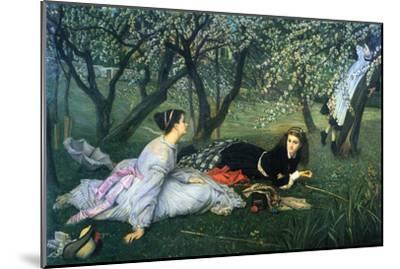 Springtime-James Tissot-Mounted Art Print