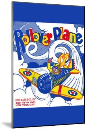 Rollover Plane--Mounted Art Print