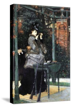 The Shooting Range-James Tissot-Stretched Canvas Print