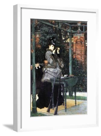 The Shooting Range-James Tissot-Framed Art Print
