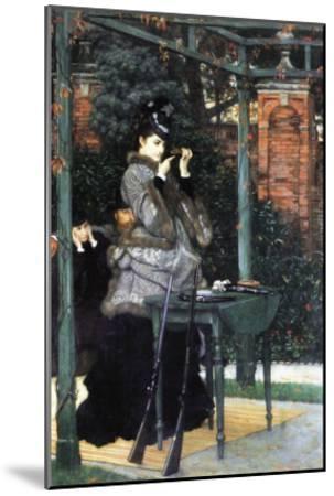 The Shooting Range-James Tissot-Mounted Art Print
